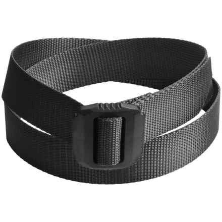 Bison Designs Jag Rugged Belt (For Men and Women) in Black - Closeouts