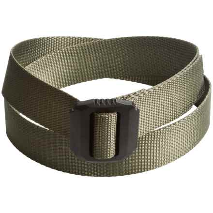 Bison Designs Jag Rugged Belt (For Men and Women) in Olive - Closeouts