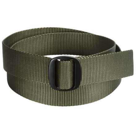 Bison Designs Ojai Belt (For Men and Women) in Olive - Closeouts