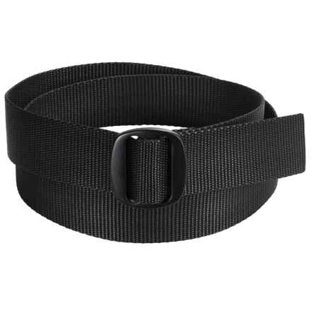 Bison Designs Ojai Belt (For Men) in Black - Closeouts