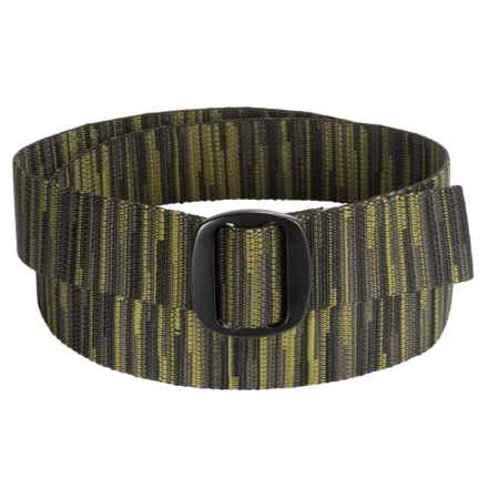 Bison Designs Ojai Wide Belt (For Men and Women) in Osage - Closeouts