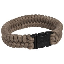 Bison Designs Paracord Bracelet (For Men and Women) in Tan - Closeouts