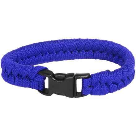 Bison Designs Paracord Survival Bracelet - 7' in Blue - Closeouts
