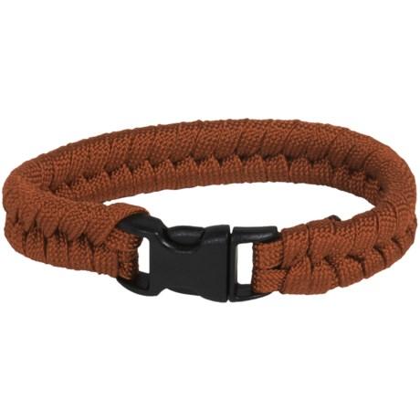 Bison Designs Paracord Survival Bracelet - 7' in Chocoalte