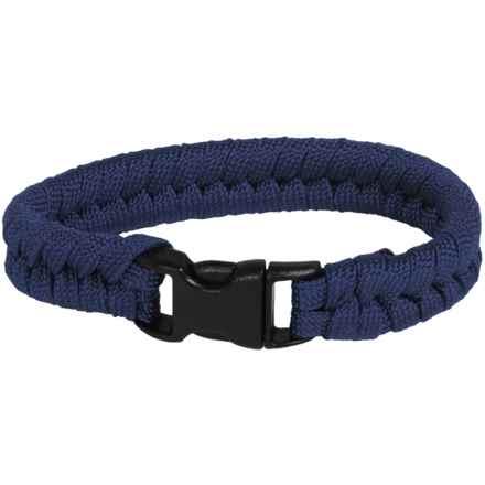 Bison Designs Paracord Survival Bracelet - 7' in Midnight Blue - Closeouts