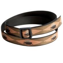 Bison Designs Slider Buckle Web Belt - 25mm (For Men and Women) in Java - Closeouts