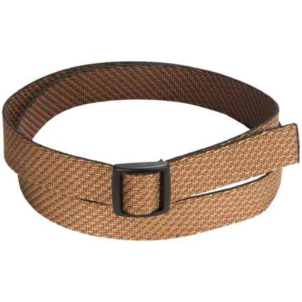 Bison Designs Slider Chaos Belt - Reversible (For Men) in Multi - Closeouts