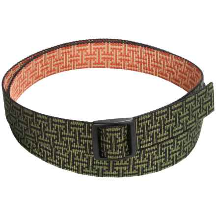 Bison Designs Slider Printed Belt - Reversible (For Men and Women) in T-Bar - Closeouts