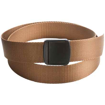 Bison Designs T-Lock Rugged Belt (For Men and Women) in Prarie - Closeouts