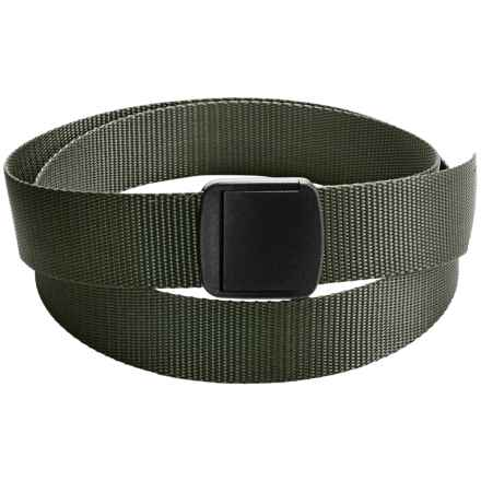 Bison Designs T-Lock Rugged Belt (For Men) in Olive - Closeouts