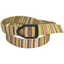 Bison Designs Viper Belt (For Men and Women) in Cabana - Closeouts
