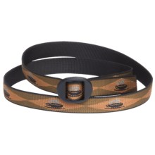 Bison Designs Web Belt - 25mm (For Men and Women) in Java - Closeouts