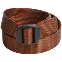 Bison Designs Web Belt (For Men and Women) in Mesquite - Closeouts