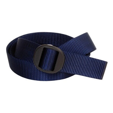 Bison Designs Web Belt (For Men and Women) in Navy