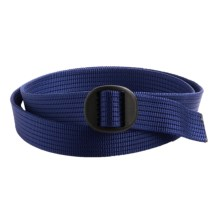 Bison Designs Web Belt (For Men and Women) in Ridges Blue - Closeouts