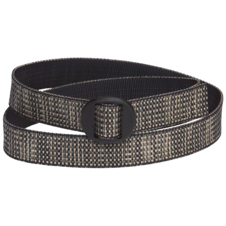 Bison Designs Web Belt (For Men and Women) in Tweed