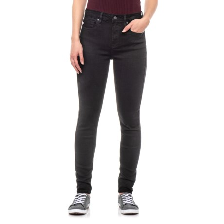 Image of Black Ace Super Skinny Jeans - High-Rise (For Women)