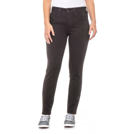 Image of Black Ami Skinny Leggings (For Women)