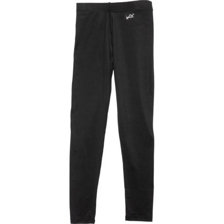 Black Base Layer Pants (For Big Boys) - BLACK (M ) thumbnail
