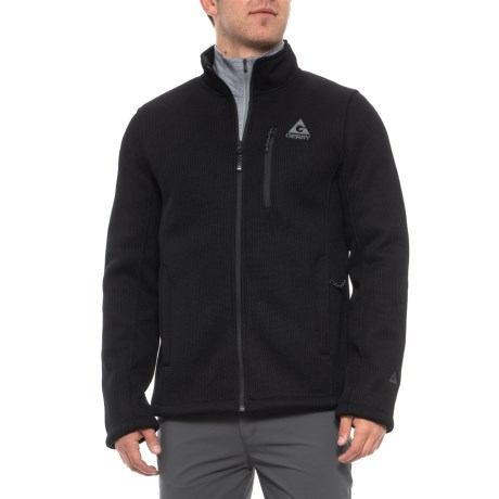 Image of Black Basecamp Fleece Jacket (For Men)