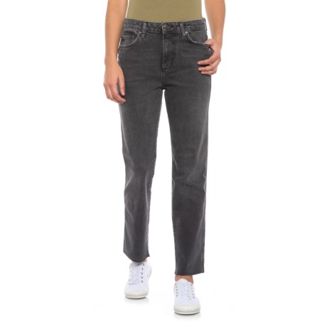 Image of Black Clean Girlfriend Jeans (For Women)