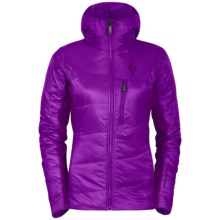 Black Diamond Equipment Access Hybrid Hooded Jacket - PrimaLoft® Silver (For Women) in Berry - Closeouts
