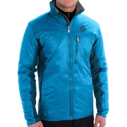 Black Diamond Equipment Access Hybrid Jacket - Insulated (For Men) in Sapphire - Closeouts