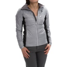 Black Diamond Equipment Access Hybrid Jacket - PrimaLoft® Silver (For Women) in Aluminum - Closeouts