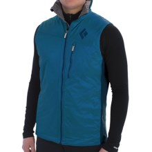 Black Diamond Equipment Access Hybrid Vest - Insulated (For Men) in Sapphire - Closeouts