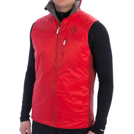 Black Diamond Equipment Access Hybrid Vest - Insulated (For Men) in Torch - Closeouts