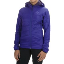 Black Diamond Equipment Access LT Hybrid Gold Hoodie - PrimaLoft® (For Women) in Spectrum Blue - Closeouts