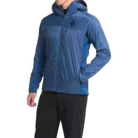 Black Diamond Equipment Access LT Hybrid PrimaLoft® Hoodie - Insulated (For Men) in Denim - Closeouts