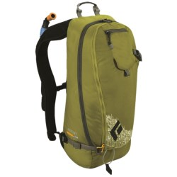 Black Diamond Equipment Agent AvaLung Snowsport Backpack in Green Olive Print