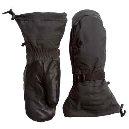 Black Diamond Equipment Ankhiale Gore-Tex® Mittens - Waterproof, Insulated (For Women) in Black - Closeouts