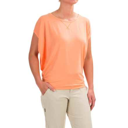 Black Diamond Equipment Arete T-Shirt - Short Sleeve (For Women) in Salmon - Closeouts