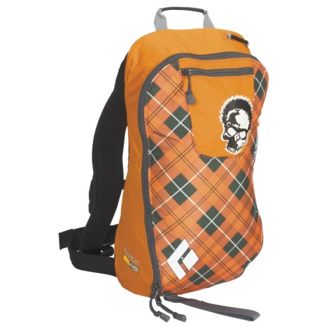 Black Diamond Equipment Avalung Bandit 11L Backpack in Seth Plaid Orange