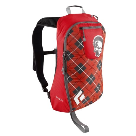 Black Diamond Equipment Bandit Backpack - 11 Liter in Seth Plaid Red
