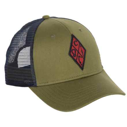 Black Diamond Equipment BD Trucker Hat (For Men) in Burnt Olive - Closeouts