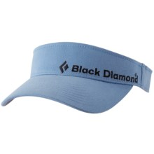 Black Diamond Equipment BD Visor - Organic Cotton (For Men) in Periwinkle - Closeouts