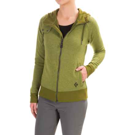 Black Diamond Equipment Boulder Hoodie (For Women) in Sage - Closeouts