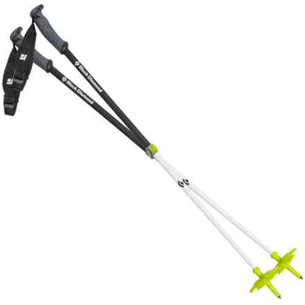 Black Diamond Equipment Carbon Probe Ski Poles - 125cm in White/Black - Closeouts