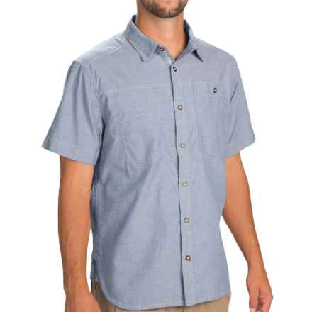 Black Diamond Equipment Chambray Modernist Shirt - Short Sleeve (For Men) in Imperial - Closeouts