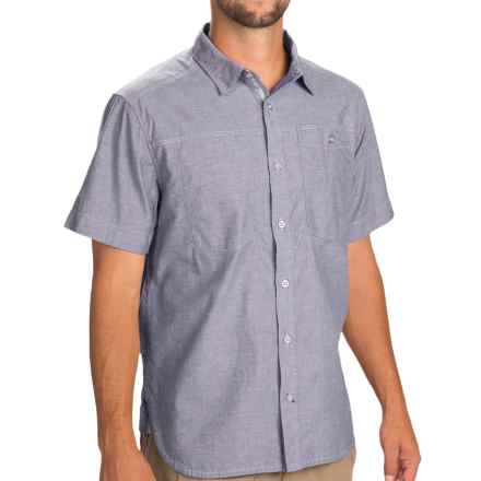 Black Diamond Equipment Chambray Modernist Shirt - Short Sleeve (For Men) in Indigo - Closeouts