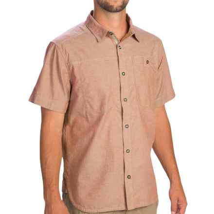 Black Diamond Equipment Chambray Modernist Shirt - Short Sleeve (For Men) in Rust - Closeouts
