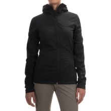 Black Diamond Equipment CoEfficient Hooded Jacket - Polartec® Power Dry® (For Women) in Black - Closeouts