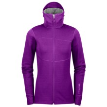 Black Diamond Equipment CoEfficient Hooded Jacket - Polartec® Power Dry® (For Women) in Grape - Closeouts