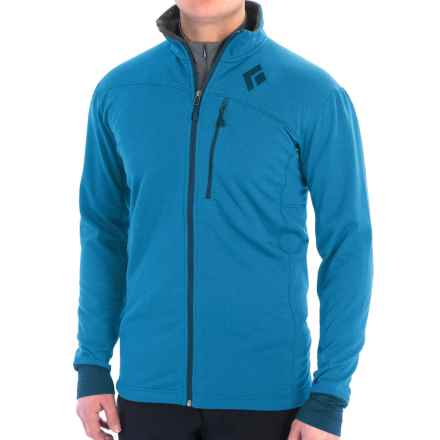 Black Diamond Equipment CoEfficient Polartec® Power Dry® Jacket (For Men) in Sapphire - Closeouts