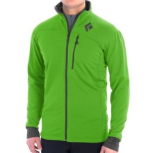 Black Diamond Equipment CoEfficient Polartec® Power Dry® Jacket (For Men) in Vibrant Green - Closeouts
