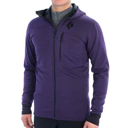 Black Diamond Equipment CoEfficient Polartec® Power Dry® Jacket - Hooded (For Men) in Nightshade - Closeouts