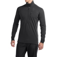Black Diamond Equipment CoEfficient Polartec® Power Dry® Pullover - Zip Neck, Long Sleeve (For Men) in Black - Closeouts